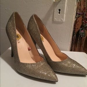 Guess silver sexy shimmer heel shoe